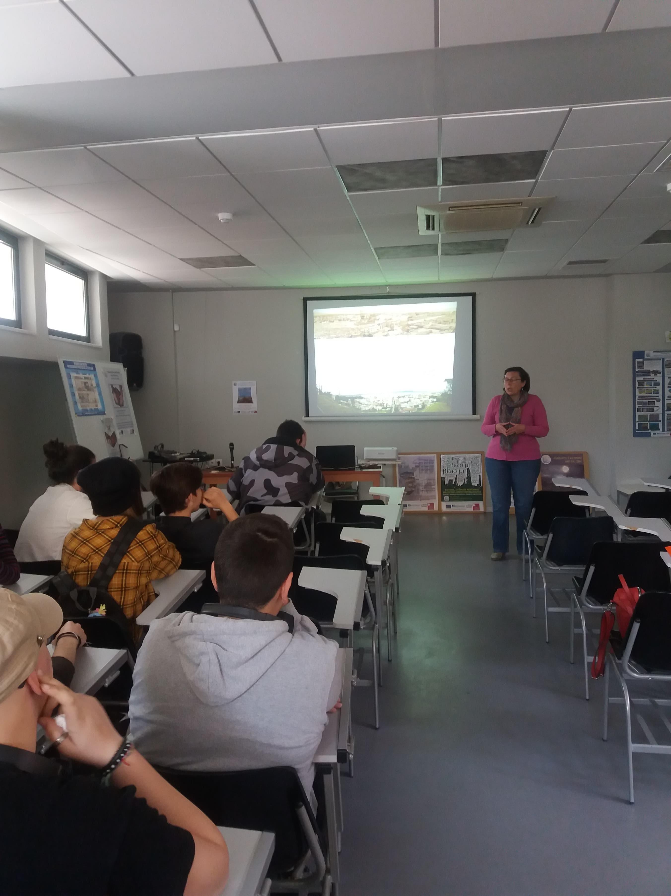 Διδακτική επίσκεψη στην Ελευσίνα 26-3-2019